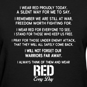 Red Friday Shirt - Women's T-Shirt