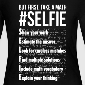 Math Shirt - Women's Long Sleeve Jersey T-Shirt