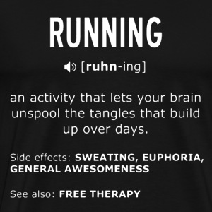 Definition of Running - Men's Premium T-Shirt