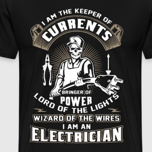 I Am An Electrician Shirt - Men's Premium T-Shirt