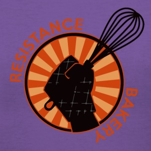 Resistance Bakery T-Shirts - Women's V-Neck T-Shirt