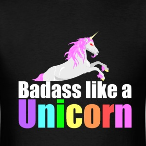 Badass Like a Unicorn M - Men's T-Shirt
