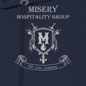 Misery Hospitality Group - We love company - Men's Hoodie