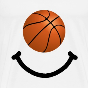 Basketball Smile - Men's Premium T-Shirt