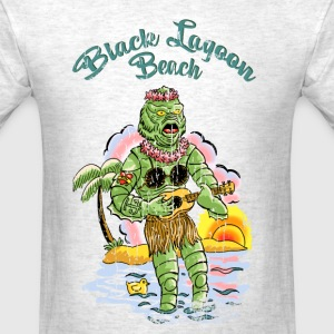Black lagoon beach - Men's T-Shirt