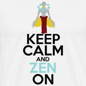 Keep Calm and Zen On - Men's Premium T-Shirt