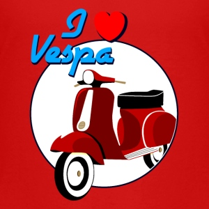 Vintage Red Scooter Kids's T_shirt - Kids' Premium T-Shirt