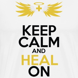 keep Calm and Heal On - Men's Premium T-Shirt