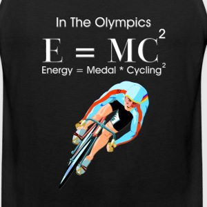 E=MC2 Olympic Cycling Mens Premium Tank Top - Men's Premium Tank