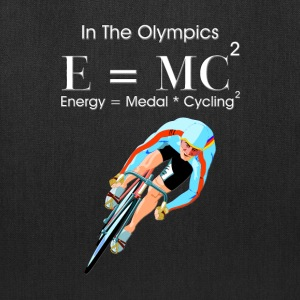 E=MC2 Olympic Cycling Tote Bag - Tote Bag