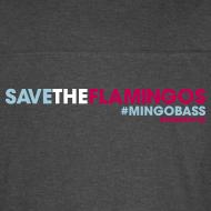 Design ~ Mens RINGER-Save The Flamingos - MINGOBASS