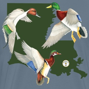 Louisiana Ducks by Shootat T-Shirts - Men's Premium T-Shirt