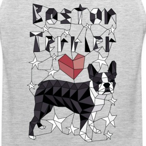 Geometric Boston Terrier Sportswear - Men's Premium Tank