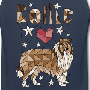 Geometric Collie Sportswear - Men's Premium Tank