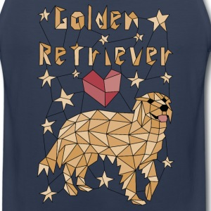 Geometric Golden Retriever Sportswear - Men's Premium Tank