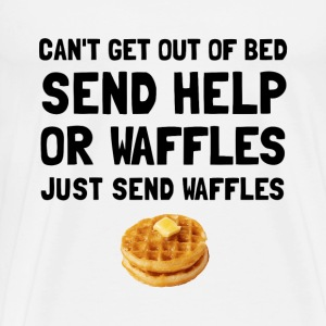 Send Waffles - Men's Premium T-Shirt