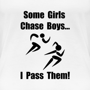 Run Pass Boys - Women's Premium T-Shirt