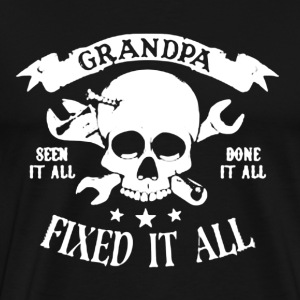 Grandpa Fix It All - Men's Premium T-Shirt