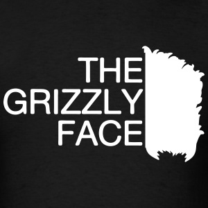 The Gizzly Face T-Shirts - Men's T-Shirt