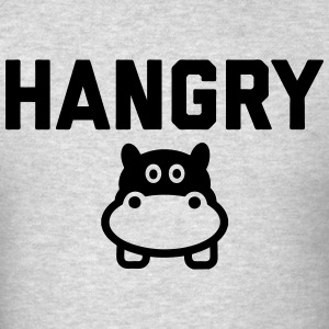 Hangry Hippo T-Shirts - Men's T-Shirt