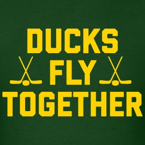 Ducks Fly Together T-Shirts - Men's T-Shirt