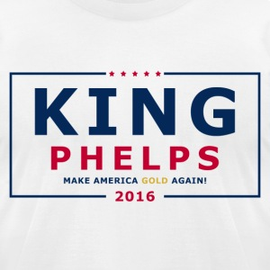 King Phelps 2016 - Men's T-Shirt by American Apparel