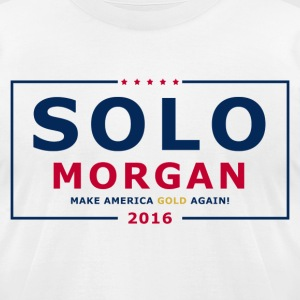 Solo Morgan 2016 - Men's T-Shirt by American Apparel