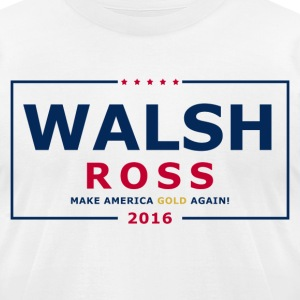 Wash Ross 2016 - Men's T-Shirt by American Apparel