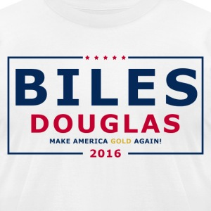 Biles Douglas 2016 - Men's T-Shirt by American Apparel