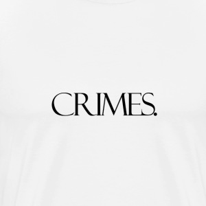 Crimes - White - Men's Premium T-Shirt