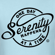Design ~ Serenity Happens - One Day At A Time