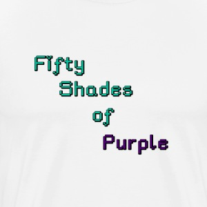 Men's 50 Shades of Purple Premium T-Shirt - Men's Premium T-Shirt
