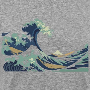 Japan Hokusai Great Wave T-Shirts - Men's Premium T-Shirt