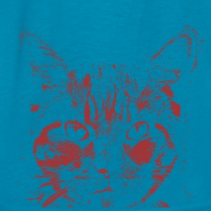Serious cat  - Kids' T-Shirt