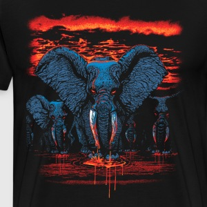 Elephants Blood Ivory - Men's Premium T-Shirt