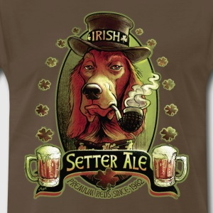 Irish Setter Red Ale - Men's Premium T-Shirt