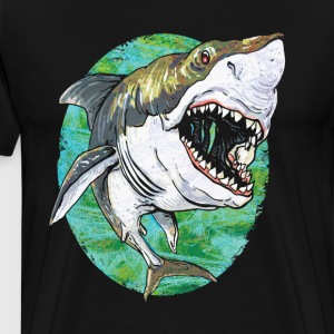 Great White Shark - Men's Premium T-Shirt