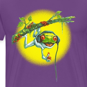 Tree Frog Hanging Out - Men's Premium T-Shirt