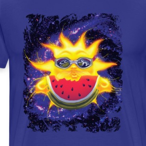 Summer Sun Watermelon - Men's Premium T-Shirt