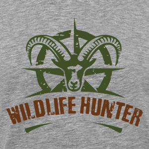 Wildlife Hunter - Men's Premium T-Shirt