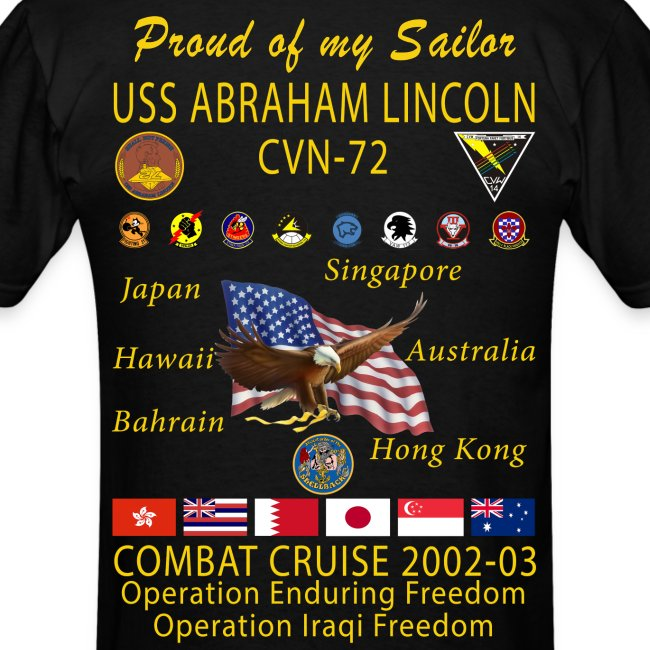 USS ABRAHAM LINCOLN CVN-72 WESTPAC 2002-03 - FAMILY EDITION