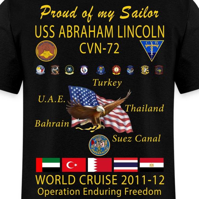 USS ABRAHAM LINCOLN CVN-72 WORLD CRUISE 2011-12 - FAMILY EDITION