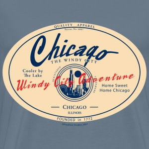 Chicago Windy City Adventure - Men's Premium T-Shirt