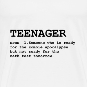 Teenager Definition - Men's Premium T-Shirt
