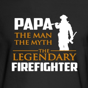 Legendary Firefighter - Men's Long Sleeve T-Shirt