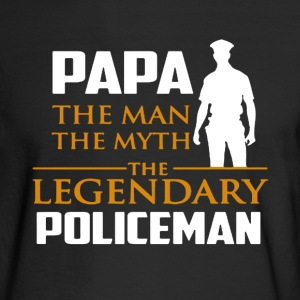 Legendary Police Shirt - Men's Long Sleeve T-Shirt
