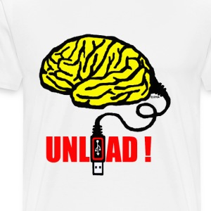 Brain to unload - Men's Premium T-Shirt