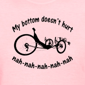 Bottom Womens (black ink) - Women's T-Shirt
