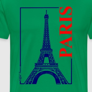 Paris-Eiffel Tower - Men's Premium T-Shirt