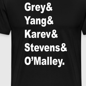 Grey's Anatomy Cast - Men's Premium T-Shirt